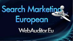 Top European Search Marketing bitly.com/33IQ6aK #WebAuditor.eu Marketing Consulting eCommerce WEB Affiliate Agencies #ShopsAdvertising #BestEuropean #AdvertisingEurope #MultilingualOnlineMarketing #OnlineMarketingComplex #OnlineMarketingInEurope... Search Engine Marketing, Search Engine Advertising, Visual Advertising, Online Advertising, Marketing Viral, Marketing Plan, Internet Marketing, Online Marketing, Social Media Marketing