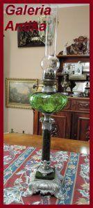 Kolumnowa LAMPA NAFTOWA sprawna sygnatura DEPOSE (6160966364) - Allegro.pl - Więcej niż aukcje.