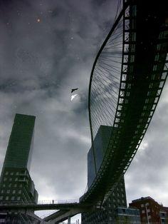 Puente de Calatrava, Bilbao