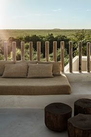 Tulum Treehouse, design by Co-Lab Joanna Gomez and Joshua Beck, interior concept and curation by Annabell Kutucu, photo by Brechenmacher & Baumann Photography Outdoor Spaces, Outdoor Living, Outdoor Seating, Outdoor Pool, Ideas Terraza, Les Hamptons, Rue Verte, Shade House, Best Boutique Hotels