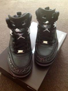 1acd819d5fe5da NikeID Jordan Spizike (Unboxing)  Nikeid  Jordans  Jumpman  Spizike  Black   Cement  Unboxing