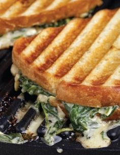Who doesn't love artichoke dip? Try it in a sandwich #EmerilsGrilling