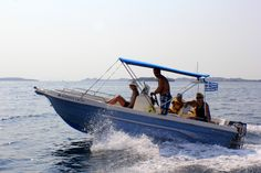 Enjoy a day out with Spiros's boats! Photo credits: Michelle Watkins