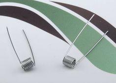 Sachet de 10 résistances pré-montées d'une valeur de 1 Ω, pour vos atomiseurs reconstructibles !