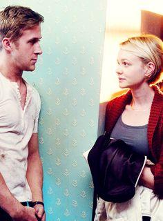 Ryan Gosling & Carey Mulligan in Drive (Nicolas Winding Refn, Drive 2011, Gangster Movies, Carey Mulligan, Ryan Gosling, Girl Inspiration, Moving Pictures, Actors & Actresses, Hollywood Actresses, Beautiful Men