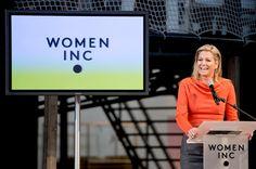 Prinses Máxima opent WOMEN Inc. Festival 2013 - Het Koninklijk Huis