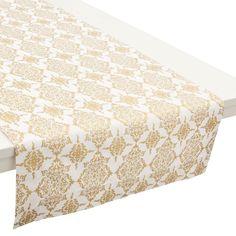 Mesa en Jacquard y estampado de damasco: formal, clásica y elegante Image: 5
