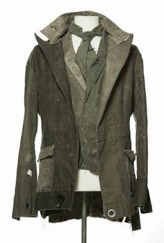 Greg Lauren's gorgeously distressed pieces from his clothing collection...