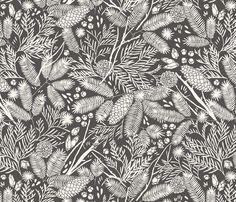 Boreal fabric by meghannrader on Spoonflower - custom fabric