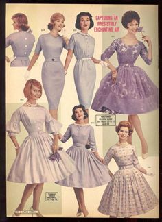 Lana lobell catalog, spring 1961 minx in mauve ретро мода, п Ad Fashion, Fashion Catalogue, Fashion History, Look Fashion, Retro Fashion, Vintage Fashion, Fashion Design, 1960s Fashion Women, Retro Mode