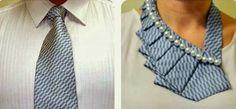 Riciclo Creativo Cravatte