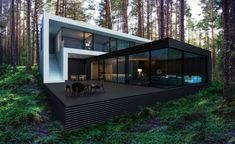 house-in-the-woods-by-alexanderzhidkov-02 - MyHouseIdea