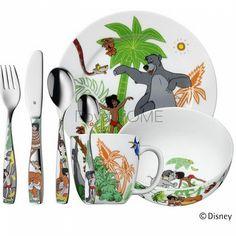 WMF - zestaw 7cz. sztućców dla dzieci Księga Dżungli