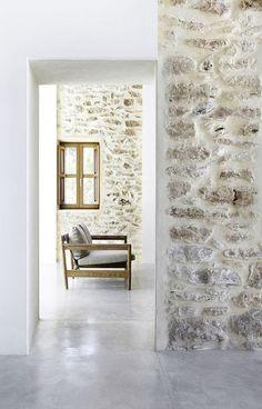 Küchen Design, House Design, Stone Houses, Fireplace Design, Diy Bedroom Decor, Home Decor, Beautiful Interiors, Interior Design Inspiration, My Dream Home