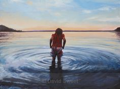 Chilly Lough Melvin in oils - Oil Paintings Oil Paintings, Oil On Canvas, Art Oil