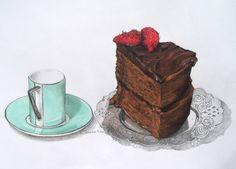 Chocolate Garam Masala Cake