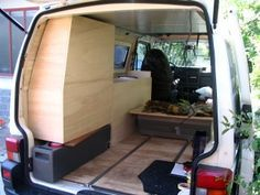 How To Build Your Own Camper Van (pretty much all of the DIY details here)