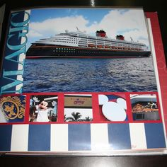 Disney Cruise Line Scrapbook Layouts - The DIS Discussion Forums - DISboards.com