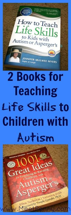 Two books for teaching practical skills to children with #Autism Repinned by SOS Inc. Resources pinterest.com/sostherapy/.