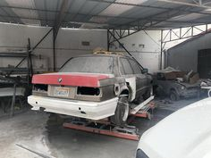 BMW never made an in a sedan.but I did (work in progress). Bmw Wagon, Bmw Vehicles, Bmw Parts, Theme Days, Bmw Motorcycles, E30, Racing, Running