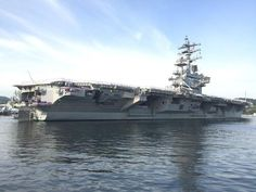 Aircraft carrier arrives in Japan: US boosting naval presence in western Pacific- Nikkei Asian Review
