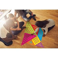 Really BIG Tangrams Problem Solving Exercises, Problem Solving Activities, Problem Solving Skills, Teambuilding Activities, Group Activities, Giant Card, Team Building Games, Communication Styles, Interactive Learning