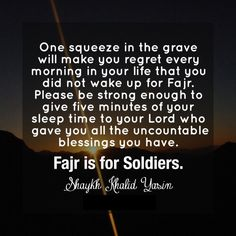 Fajar is for soldiers