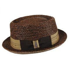 8460d2b526069 Brooklyn Hat Co Samba Raffia Straw Pork Pie Hat Pork Pie Hats