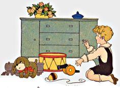 My Puzzles - Children - Vintage - Boy's Toys 1920s