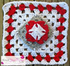 Knot Your Nana's Crochet: Granny Square CAL (Week 27)