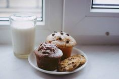 We love chocolate muffins