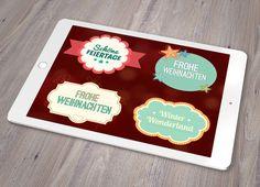 Die Erfüllung deines Wunschzettels! Auspacken, auswählen, einsetzen, zusammenfügen – schon bedeckst du die Welt mit deinem winterlich-weihnachtlichen Design-Zauber. Vektorbasierte #Design-Elemente aus dem Winter-Wunderland: über 75 Einzelelemente mit winterlichen und weihnachtlichen Motiven wie #Muster, #Textrahmen und #Texteffekte.   #Vector #Vorlage #Vektor #Illustrator #Illustration #Weihnachten #Design #Idee #kreativ #weihnachten #silvester #tanne #schnee #karte #xmas #christmas #card…
