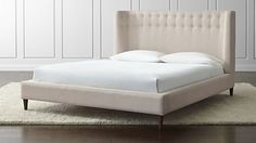 C&B Gia Upholstered Bed