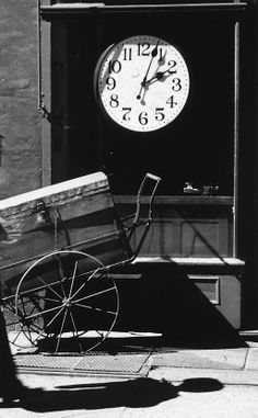 Watchmaker's Shop New York 1950by  André Kertész