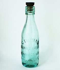 Antique Mineral Bottle - C  Thomas Aerated Water Manufacture - Camborne Cornwall…