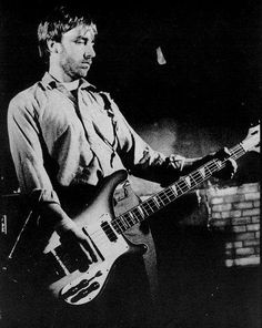 Peter Hook - Ever hear a bass player play his bass like a lead guitar.  Peter Hook redefined what a bass player could do and changed the sound of pop music.
