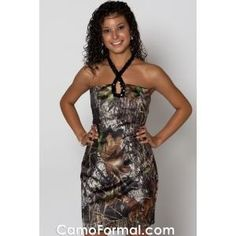 So many camo dresses I like!