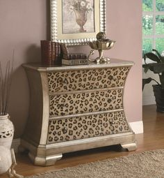 leopard print home accessories |