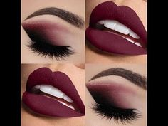 Pin by natasha on eyeshadow looks burgundy makeup, eye makeup, sexy makeup. Cute Makeup, Gorgeous Makeup, Amazing Makeup, Cheap Makeup, Crazy Makeup, Perfect Makeup, Makeup Goals, Makeup Tips, Makeup Ideas