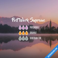 Post Work Supreme - Essential Oil Diffuser Blend