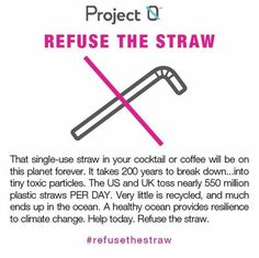 More than 500 million plastic straws are used every day, many of which end up in our landfills or oceans. Plastic straws are one of the top 10 debris items ingested by sea life. Our Stainless Steel Drinking Straws are an intelligent, eco-friendly, long-lasting alternative to plastic or paper disposable straws.