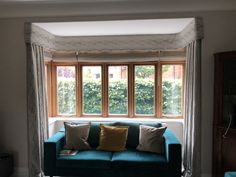 made to measure curtains made for our clients beautiful homes for more info email amanda@amandabakersofturnishings.co.uk Curtain Pelmet, Bay Window Curtains, Living Room Designs, Living Rooms, Pelmets, Bay Windows, Made To Measure Curtains, Study Desk, Roman Blinds