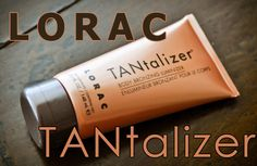 Lorac Tantalizer- wonderful self-tanner, doesn't stink like most self tanners and goes on pretty evenly