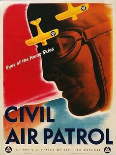 WW II C.A.P. Poster ...See our Civil Air Patrol and other Logo Lights only at  Blackenwolf.com
