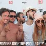 Event Wonder Rooftop & Pool Party (acte 2 - 03.08.14)
