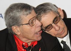 Jerry Lewis and Richard Belzer