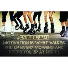 What is your #motivation? #motivationmonday #fit #fitness #kangoo #jumps…