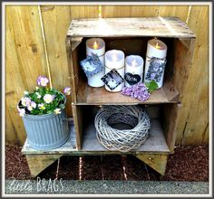 Rustic Mother's Day display by @christinevd