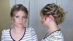 Holiday Hair Style #2 : Eva Longoria Inspired, via YouTube.