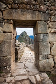Machu Picchu entry gate#peru #tmophoto